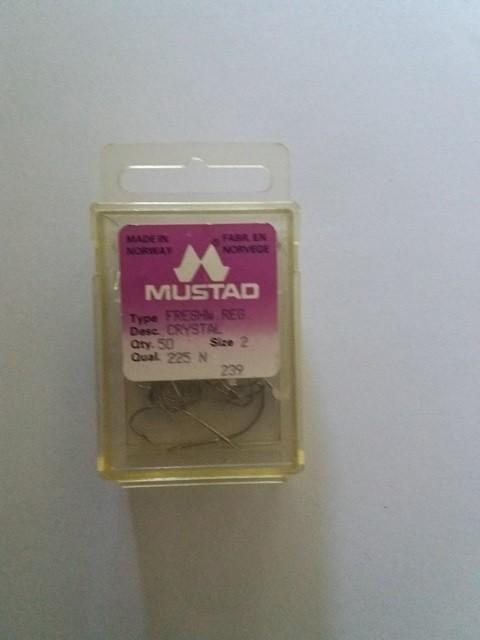 Udice Mustad Crystal 225 N 50 komada No 2