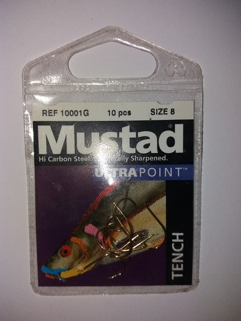 Udice Mustad Ultra Point Tench No 8