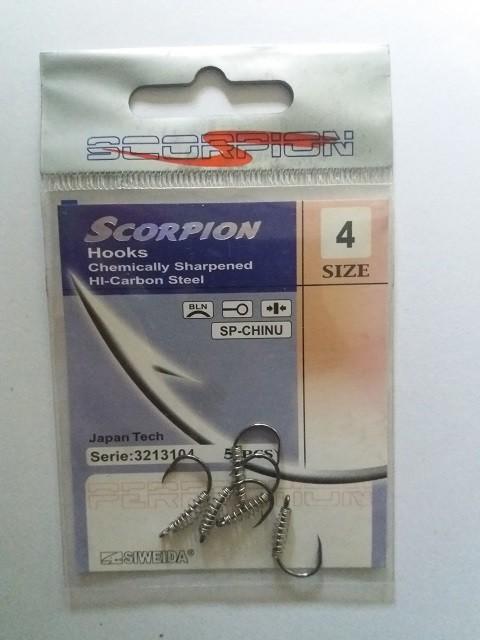 Udice sa hranilicom Scorpion No 4