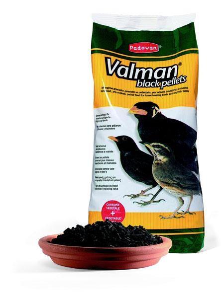 Valman-crne granule za ptice 1 kg