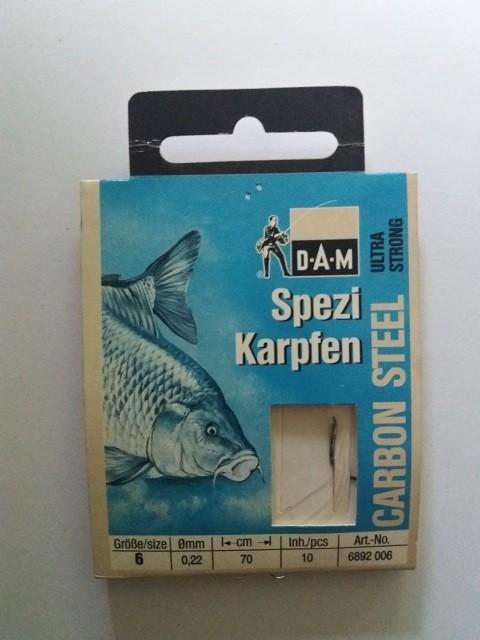 Vezane udice Dam Spezi-Karpfen No 6