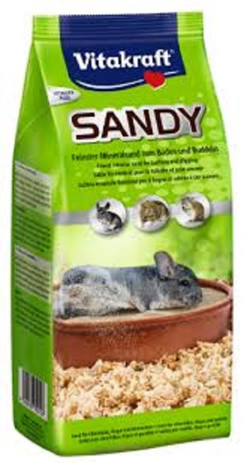 Vulkanski pesak za činčile Vitakraft Sandy 1 kg.